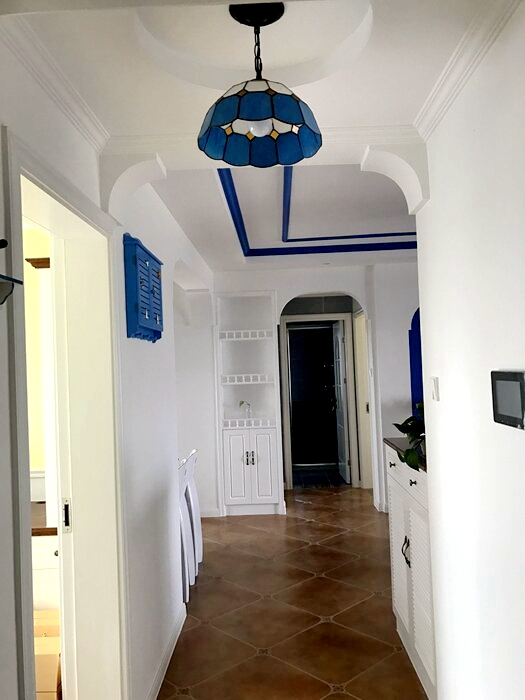 烟台装修多少钱【装修案例】88平米小三房地中海风格