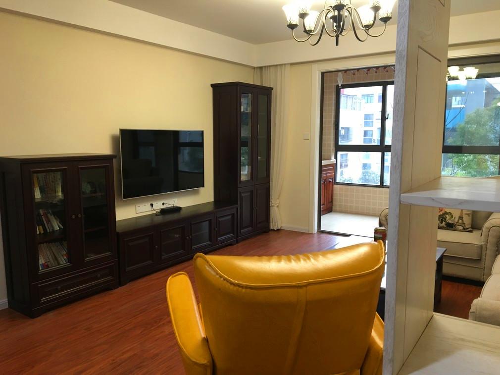 143平米三室两厅 美式田园风格